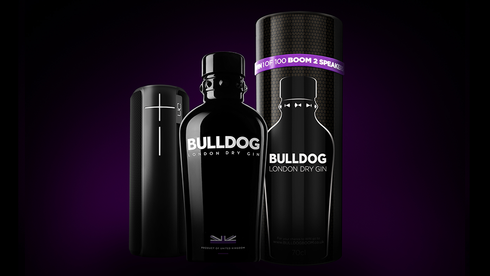 Bulldog Gin se asocia con Ultimate Ears para lanzar Bulldog Gin x UE Boom