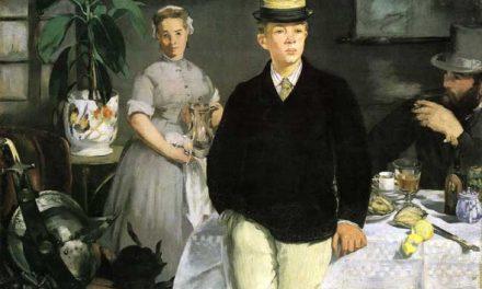 """""""El almuerzo"""" (1868), de Édouard Manet"""