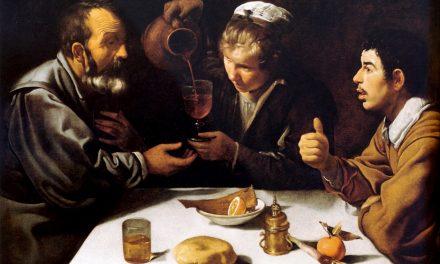 """Almuerzo de campesinos"" (1618-1619), de Diego Velázquez"