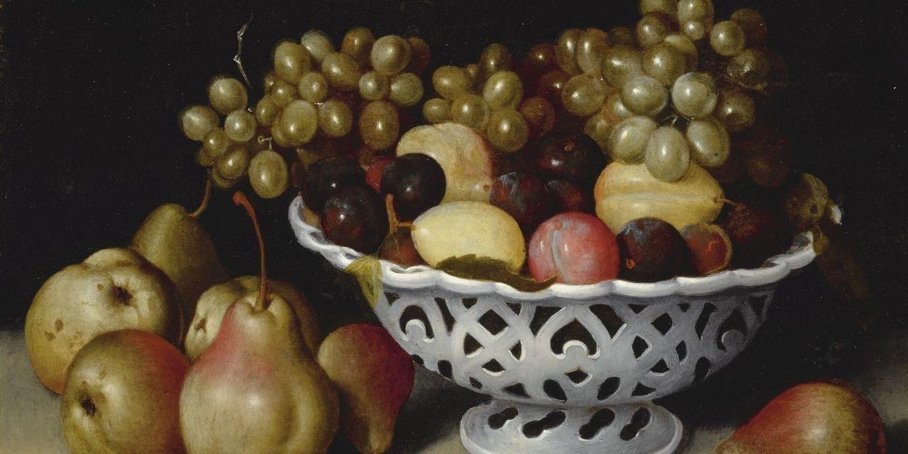 """Frutas"" (1600), de Fede Galizia"