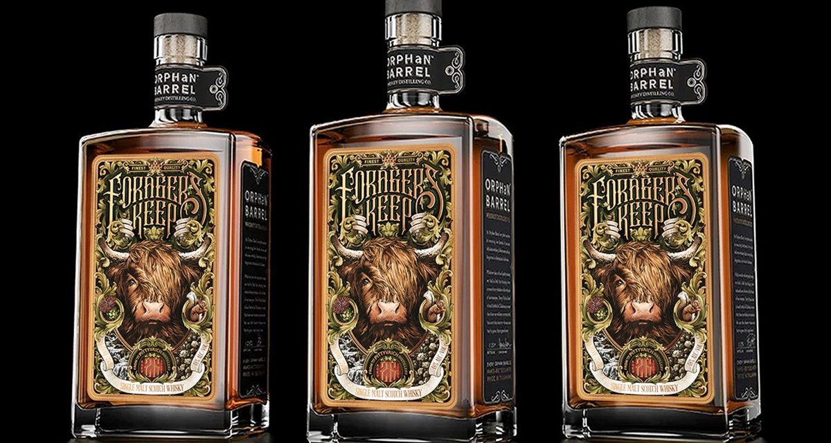 Diageo's Orphan Barrel introduce Forager's Keep, su primer whisky escocés