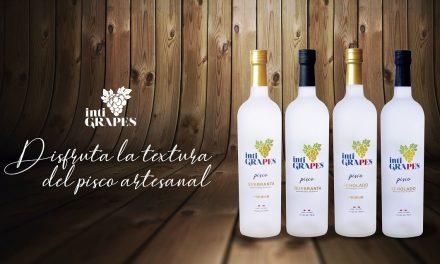 Perú estrena nuevo pisco Inti Grapes