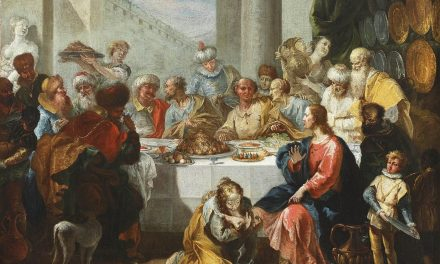 """Cena in casa del fariseo"" (1741), de Francesco Fontebasso"
