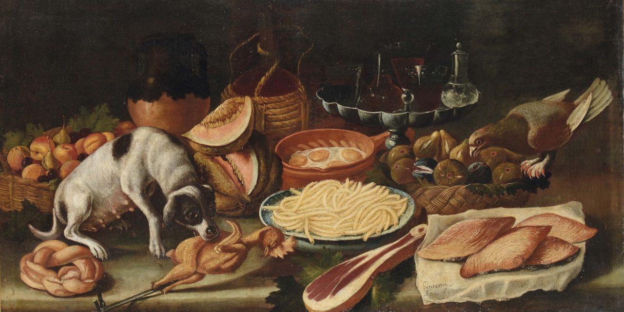 """""""Bodegón con animales"""" (1733), de Giacomo Nani"""