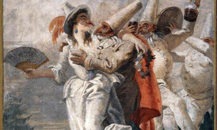 """Pulcinella enamorada"" (1797), de Giovanni Domenico Tiepolo"
