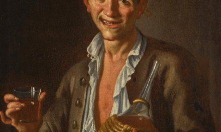 """""""El bebedor"""" (1752), de Giuseppe Bonito"""