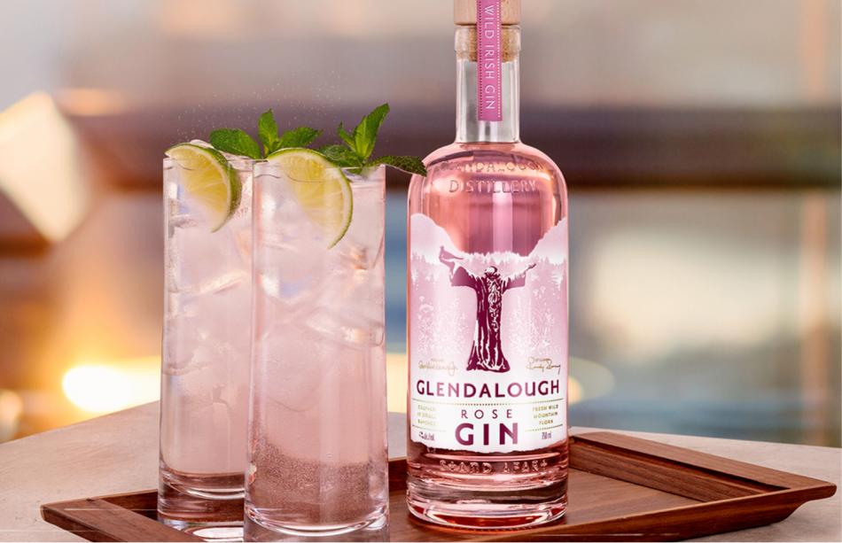 Glendalough Rose Gin se lanza en EEUU
