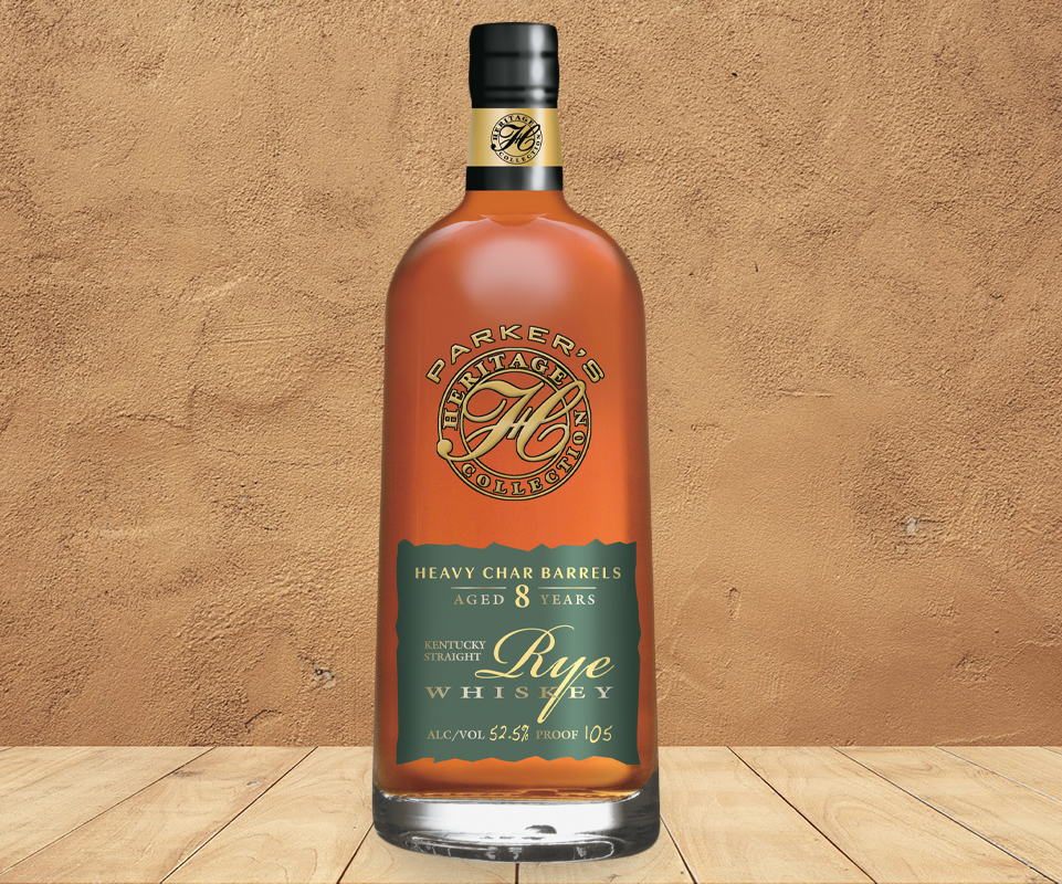 Heaven Hill Parker's Heritage Collection Heavy Char Rye Whiskey
