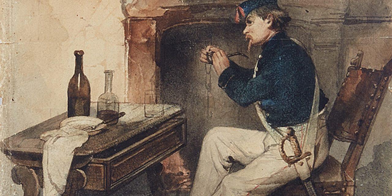 """""""La pipa"""" (1846), de Domenico Induno"""