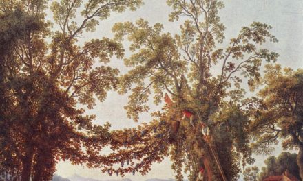 """Vendimia, Sorrento"" (1784), de Jacob Philipp Hackert"