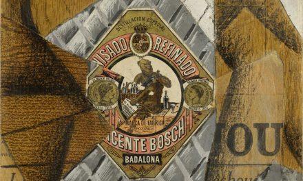 """""""La botella de anís"""" (1914), de Juan Gris"""