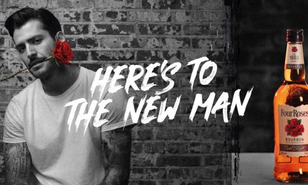 La nueva campaña de Four Roses celebra la naturalidad de la nueva masculinidad