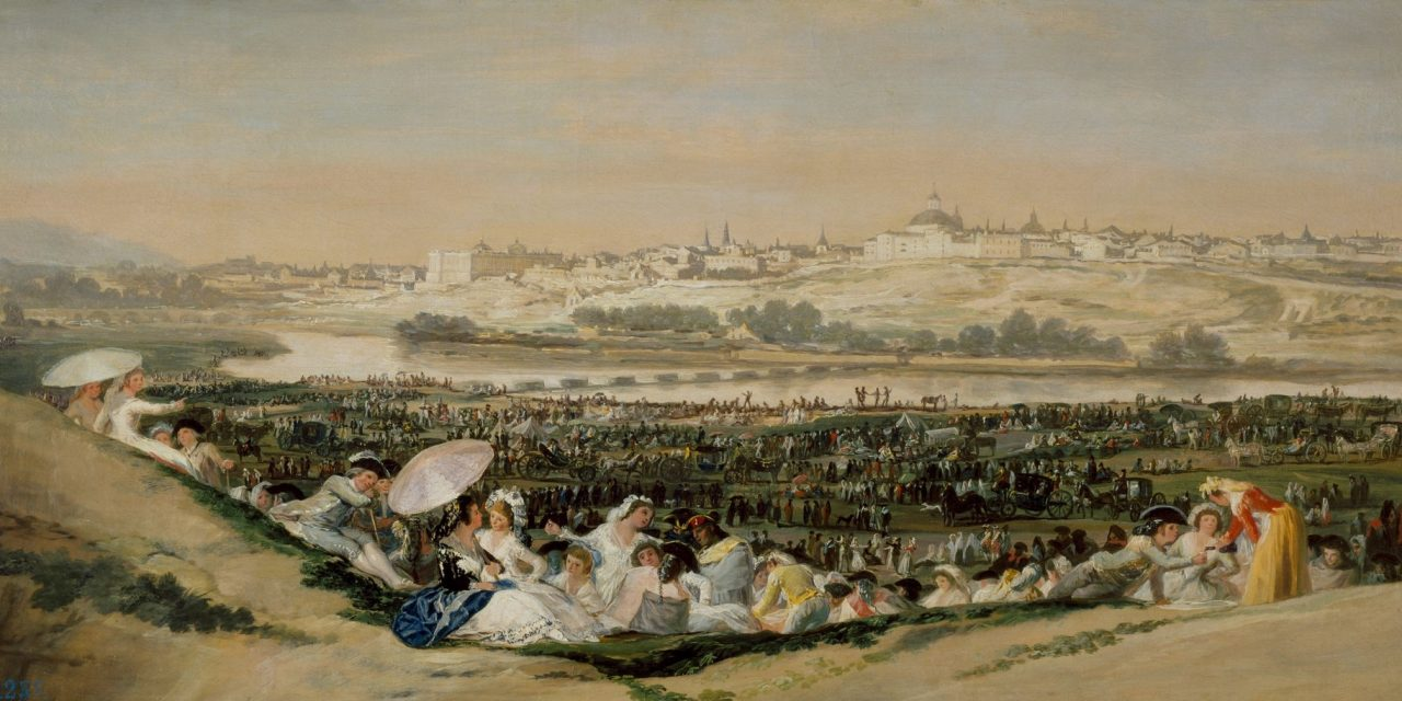 """""""La pradera de San Isidro"""" (1788), de Francisco de Goya"""