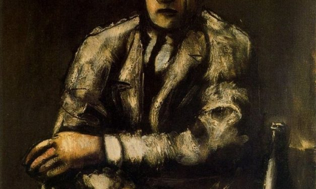 """""""El bebedor"""" (1926), de Mario Sironi"""