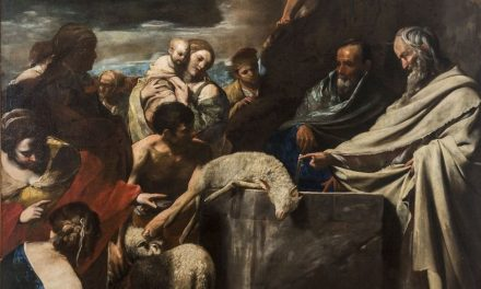 """""""Sacrificio de Moisés"""" (1606), de Massimo Stanzione"""
