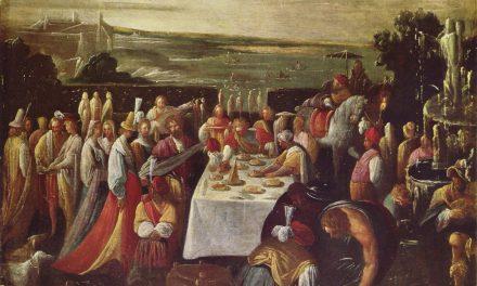 """""""Fiesta en el lago"""" (1599), de Mastelletta"""