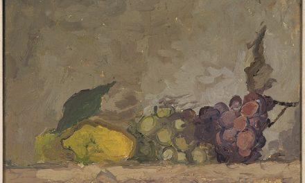 """""""Bodegón con uvas"""" (1927), de Osvaldo Licini"""