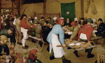 """""""La boda campesina"""" (1568), de Pieter Brueghel el Viejo"""