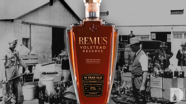Remus Volstead Reserve Straight Bourbon Whiskey