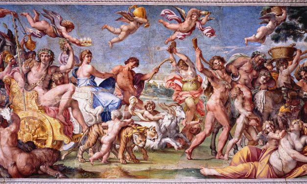 """Triunfo de Baco y Ariadna"" (1597- 1600), de Annibale Carracci"