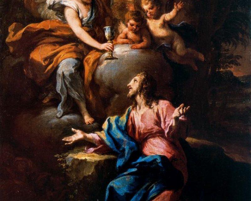 """""""Cristo en el Jardín de Getsemaní"""" (1693), de Sebastiano Conca"""