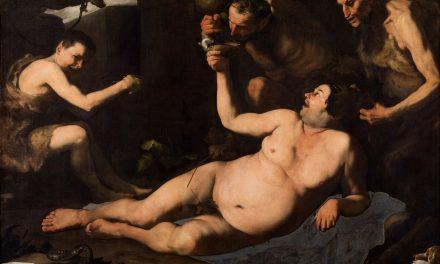 """""""Sileno ebrio"""" (1626), de José de Ribera"""