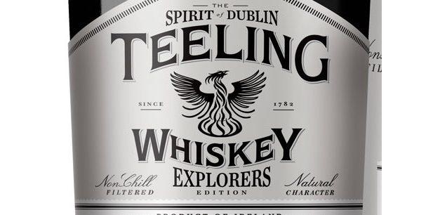 Teeling estrena su primer whisky exclusivo de TR, Teeling Whiskey Explorers Edition