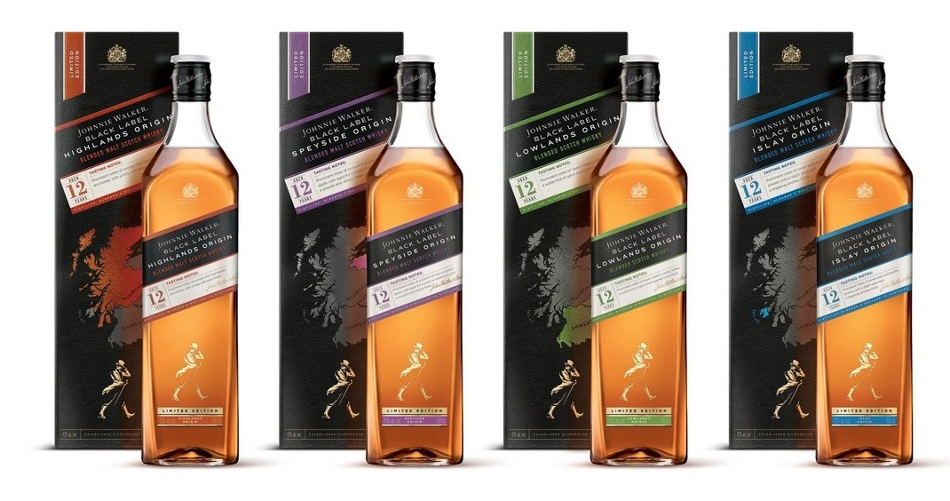 Johnnie Walker explora las regiones escocesas con The Johnnie Walker Black Label Origin Series