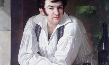 """""""Autorretrato"""" (1826), de Giuseppe Tominz"""