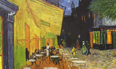 """""""Terraza de café por la noche"""" (1888), de Vincent van Gogh"""