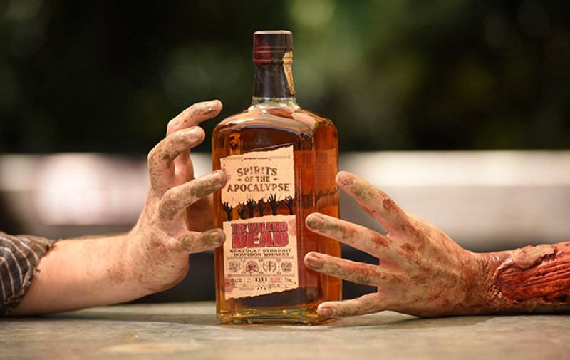Diageo lanzará un whisky bourbon de The Walking Dead