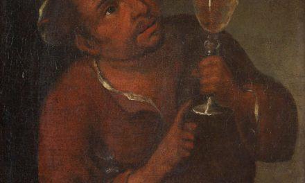 """""""El bebedor"""" (1682), de Antonio Cifrondi"""