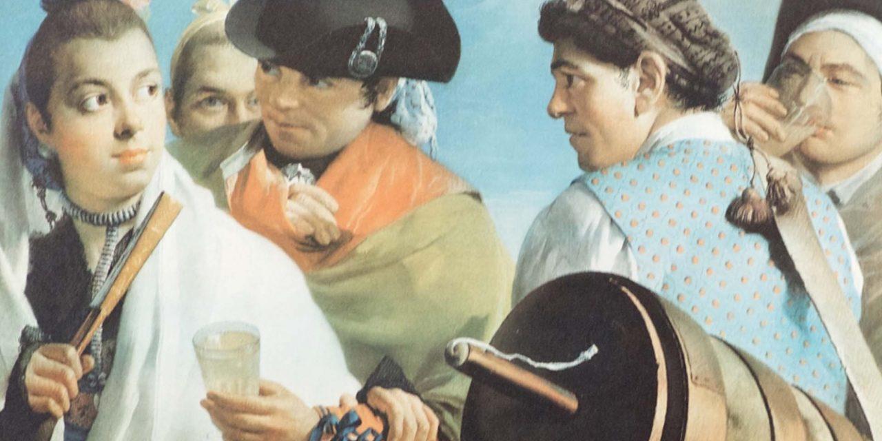 """""""El vendedor"""" (1753), de Lorenzo Tiepolo"""