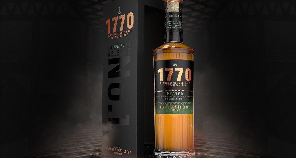 Glasgow Distillery Co. presenta su primer whisky de la ciudad, 1770 Peated Release No. 1