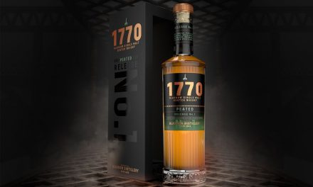 Glasgow Distillery Co. presenta su primer whisky de la ciudad, 1770 Peated Release No. 1