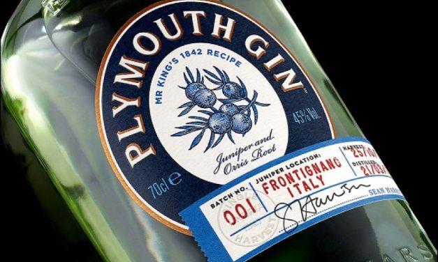 B&B studio presenta nuevo diseño de ediciones de Plymouth Gin