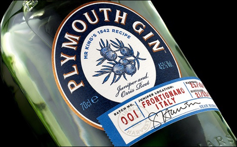 B&B studio designs for Plymouth Gin