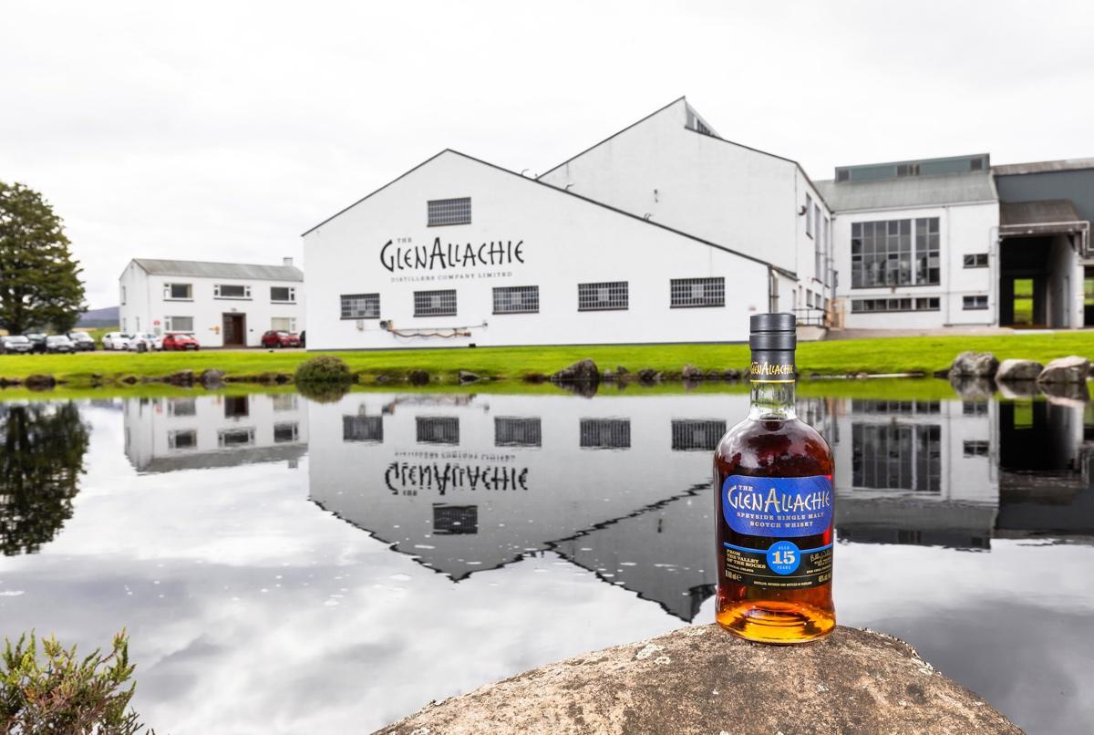 Glenallachie Distillery.