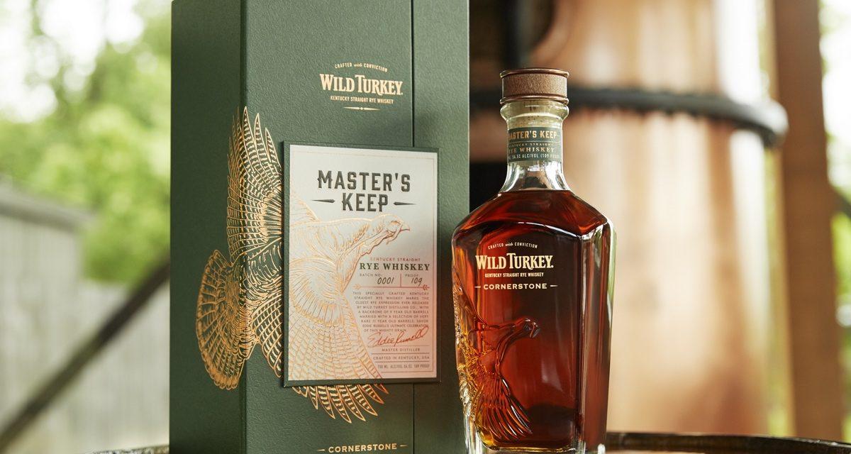 Wild Turkey revela el whisky de centeno más antiguo, Master's Keep Cornerstone Rye