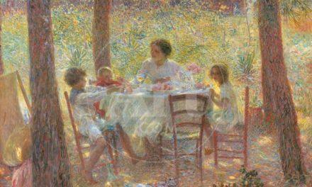"""""""Mediodía"""" (1894), de Plinio Nomellini"""