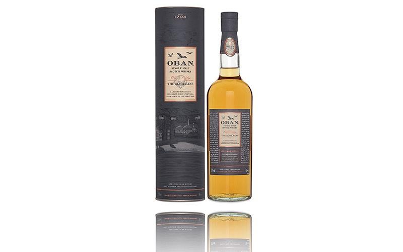 Oban celebra su herencia con el whisky Old Teddy