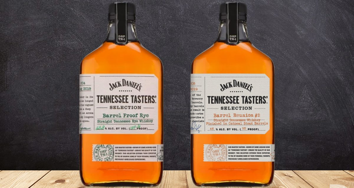 Jack Daniel's añade Barrel Proof Rye y Reunion Barrel #2 a Tasters'