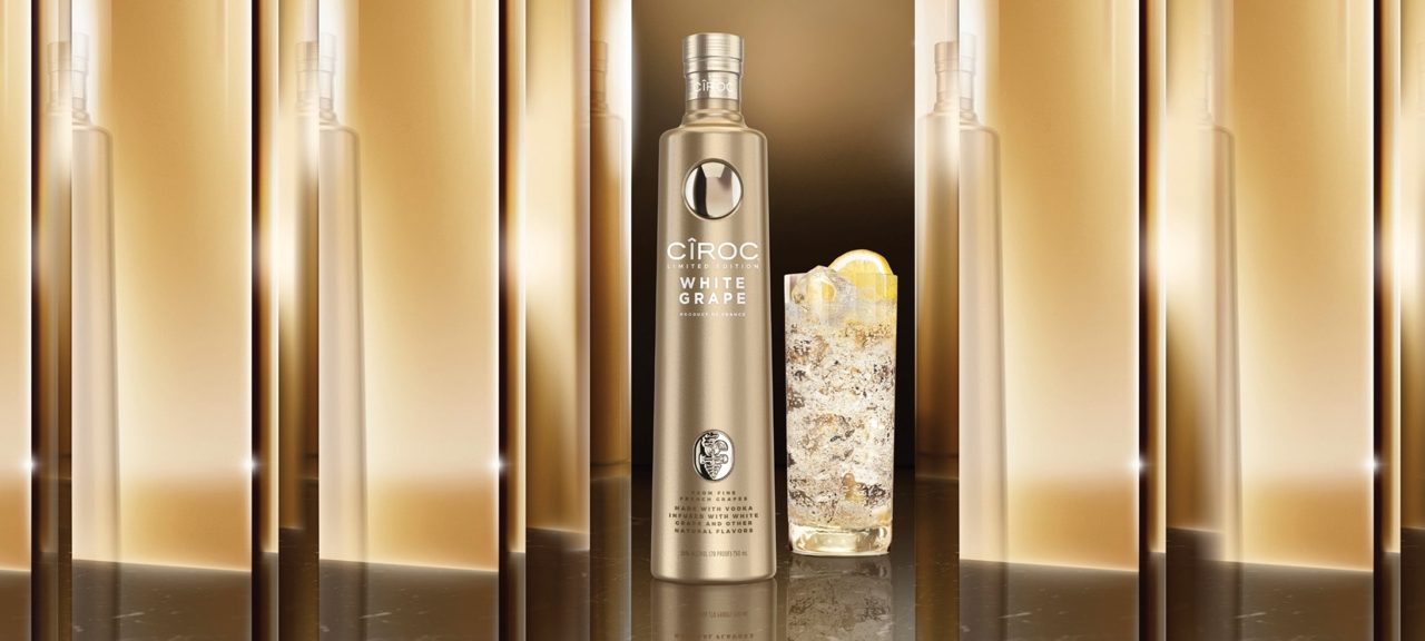 Diageo Reserve lanza el último vodka Cîroc, White Grape