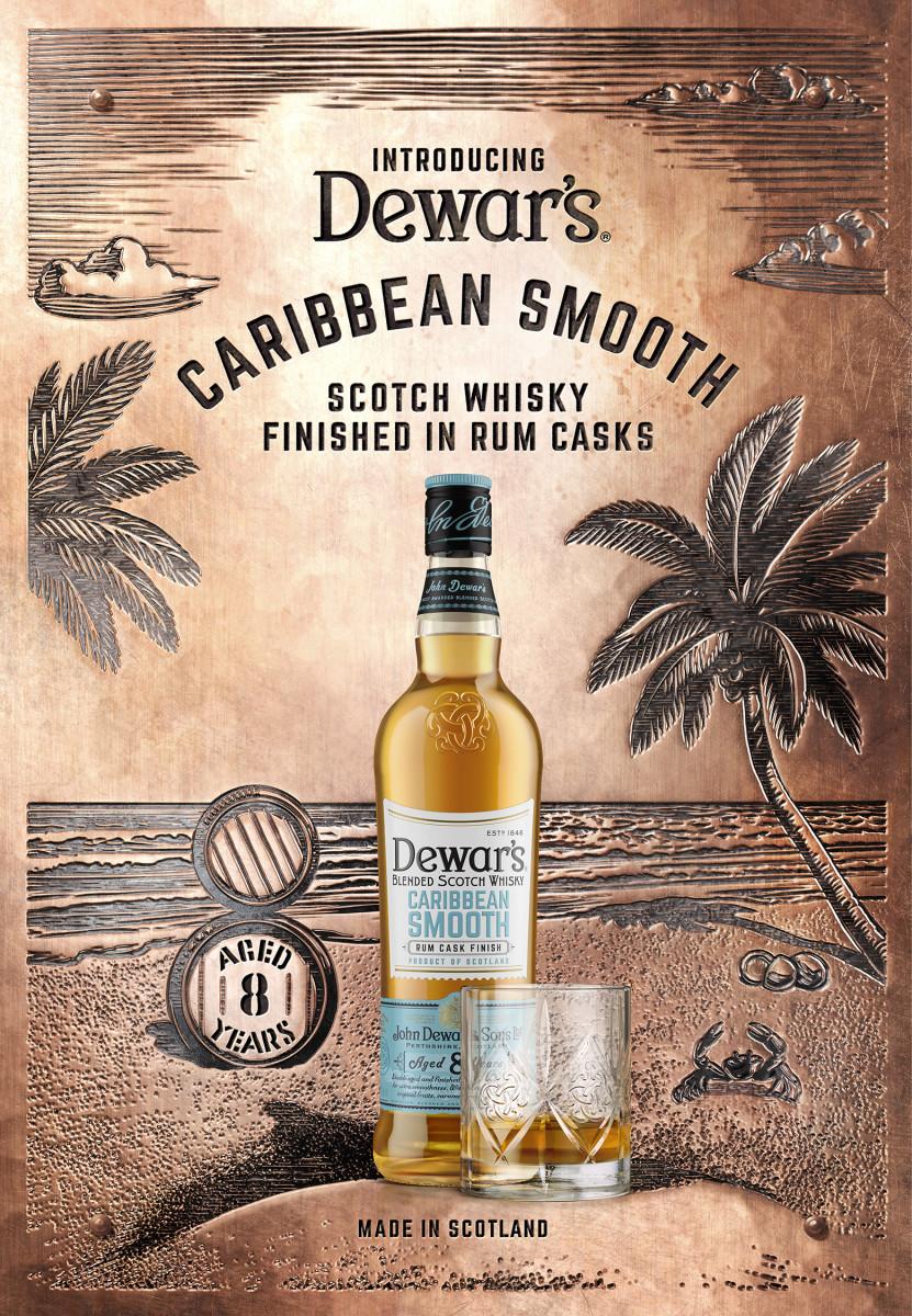 Dewar's inicia su serie de productos en barril con Caribbean Smooth