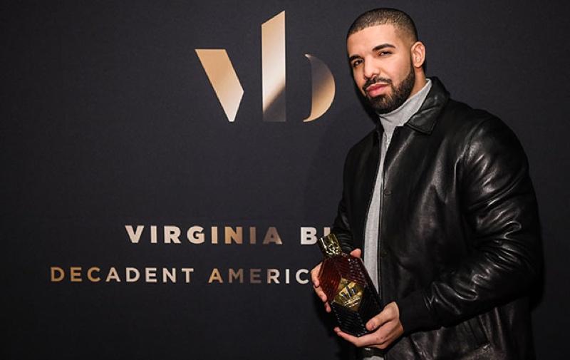 Drake trae el whisky Virginia Black al Medio Oriente
