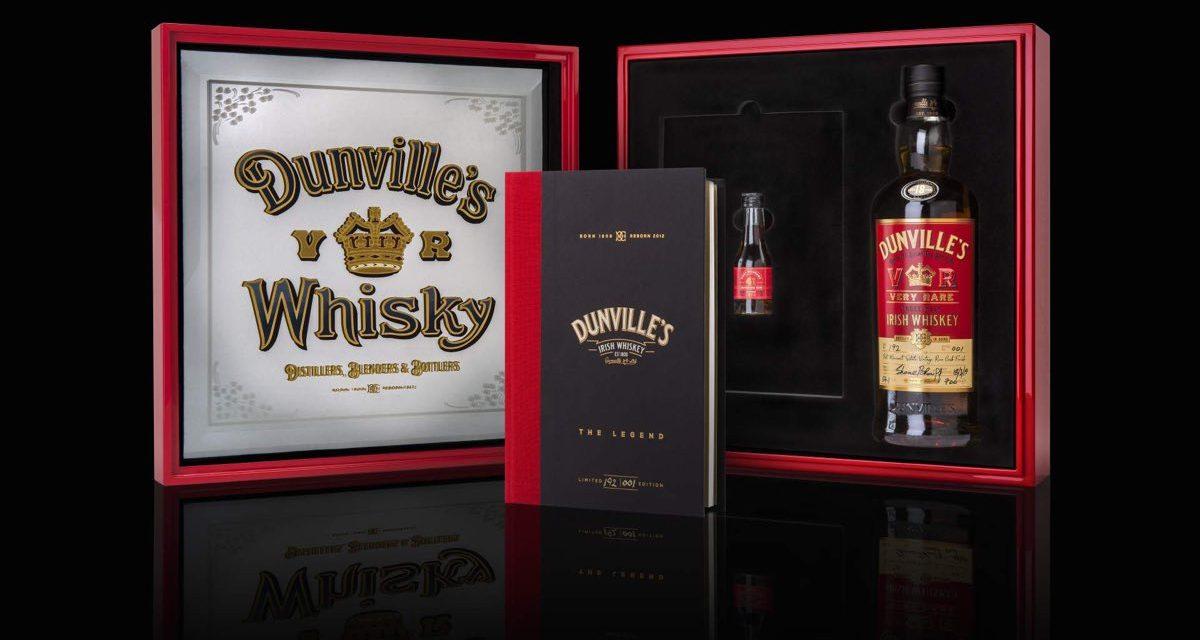 Echlinville lanza whisky irlandés de 18 años con acabado en barril de ron con Dunville's VR 18 Year Old Port Mourant Rum Finish Irish Whiskey