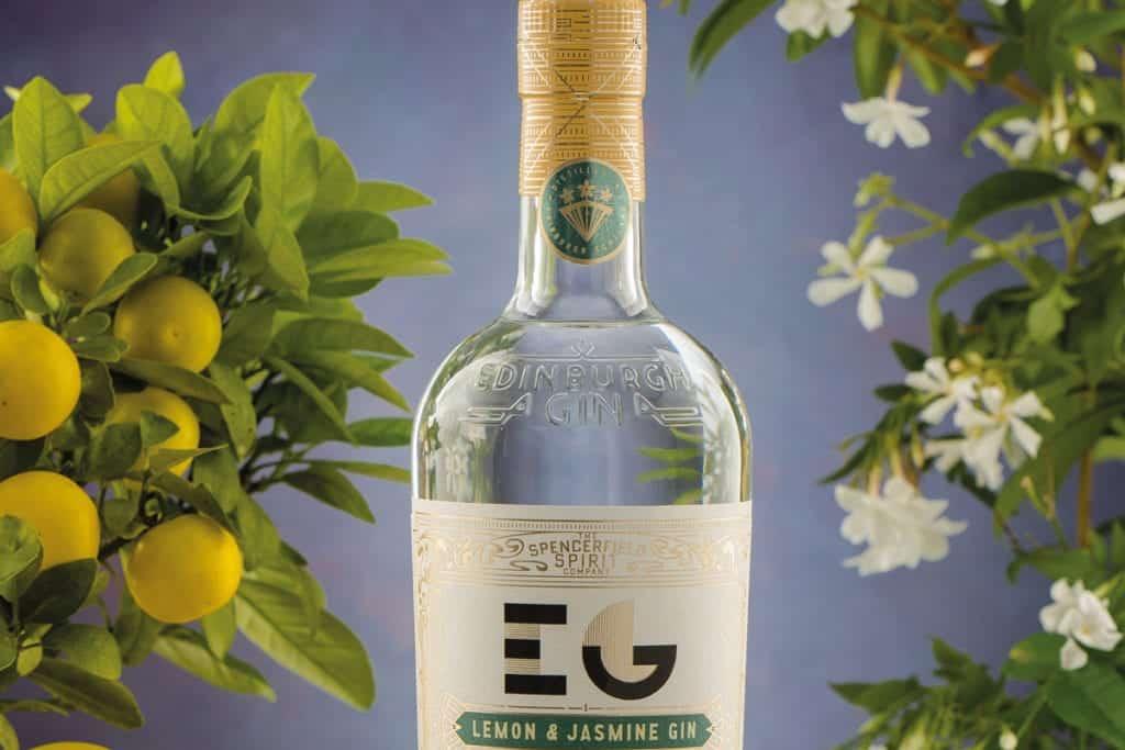 Edinburgh Gin Lemon and Jasmine
