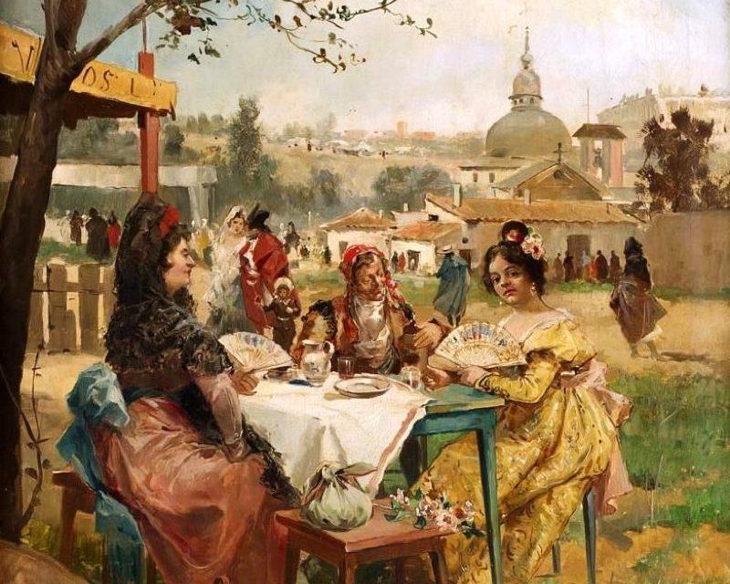 """""""La merienda"""" (1891), de Eugenio Lucas Villaamil"""