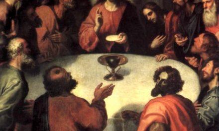 """""""Santa cena"""" (1606), de Francisco Ribalta"""