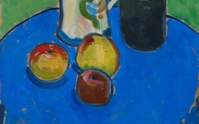 """Manzanas en azul"" (1902), de Gabriele Münter"